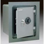 Gardall WMS119-G-CK Insulated Wall Safes with Key and Combination Lock