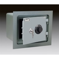 Gardall WMS912-G-CK Insulated Wall Safe with UL One Hour Fire Rating and Key and Combination Lock